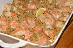 Mom's Shrimp Scampi