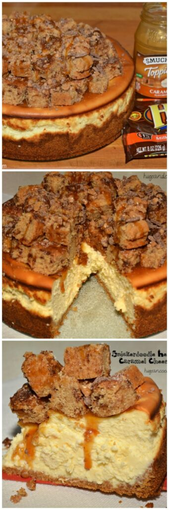 snickerdoodle caramel heath bar cheesecake