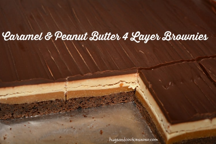 4 layer brownies
