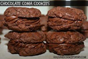Chocolate Coma Cookies