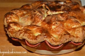 Apple Pie With Sour Cream Crust
