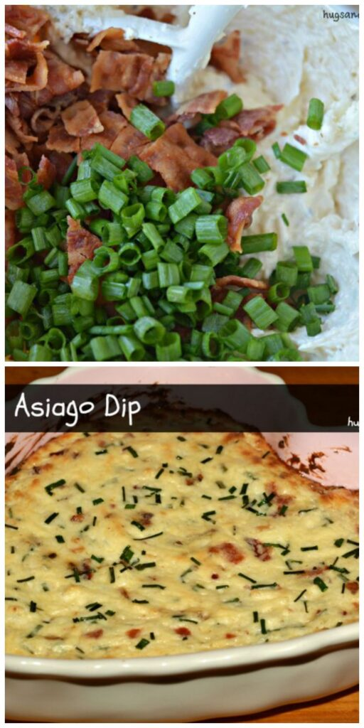 asiago bacon dip