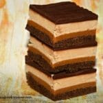 Peanut Butter & Caramel 4 Layer Brownies