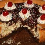Hot Fudge Brownie Sundae Cheesecake