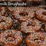 Buttermilk Doughnuts With Vanilla Glaze