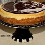 Ultimate Cheesecake Topped With The Smoothest Glaze