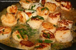 Scallops and Chives