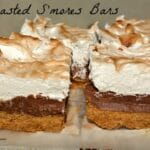 Toasted S'mores Fudge Bars