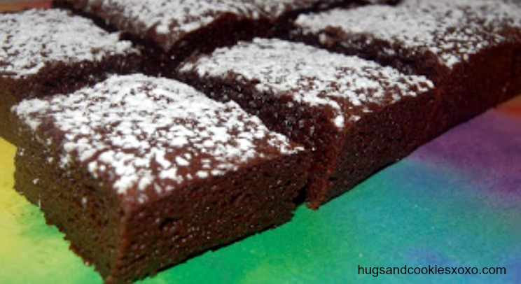 Perfect Brownies - Hugs and Cookies XOXO