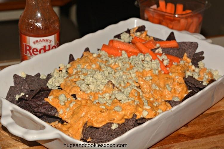 buffalo chicken nacho chips