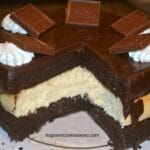 Chocolate Layer Cake & Cheesecake