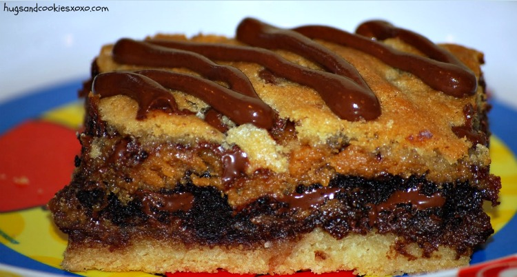 The Ultimate Layered Cookie Bar - Hugs and Cookies XOXO