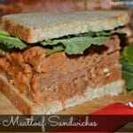 Sherry Meatloaf Sandwiches