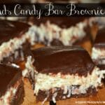 Mounds Candy Bars Brownies