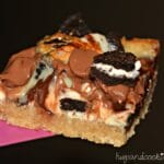 Triple Chocolate Chip Oreo Bars