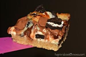 Triple Chocolate Chip Oreo Bars