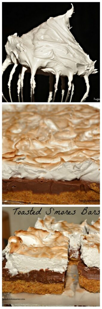 toasted smores bars