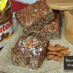 Nutella & Bacon Rice Krispy Treats