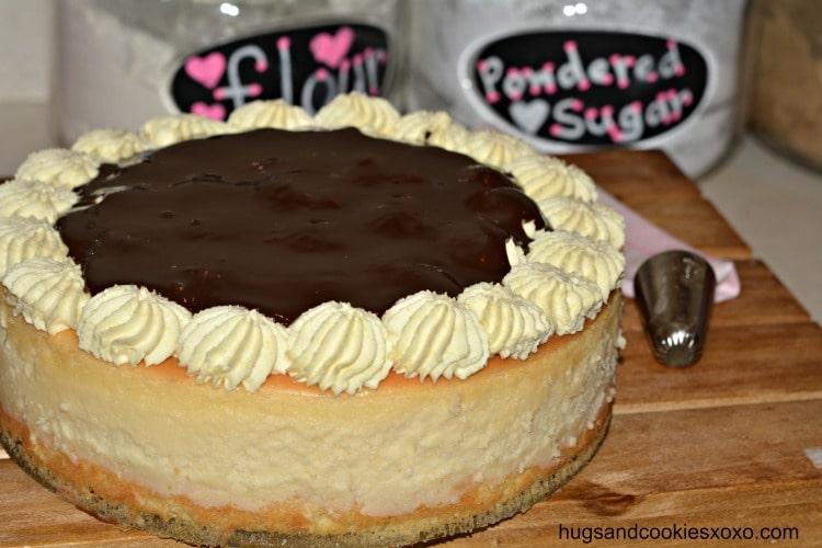 boston crem pie cheesecake