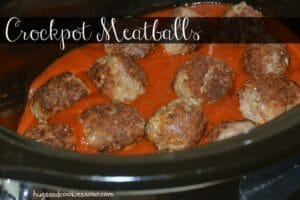 Crockpot Meatballs and Sausage