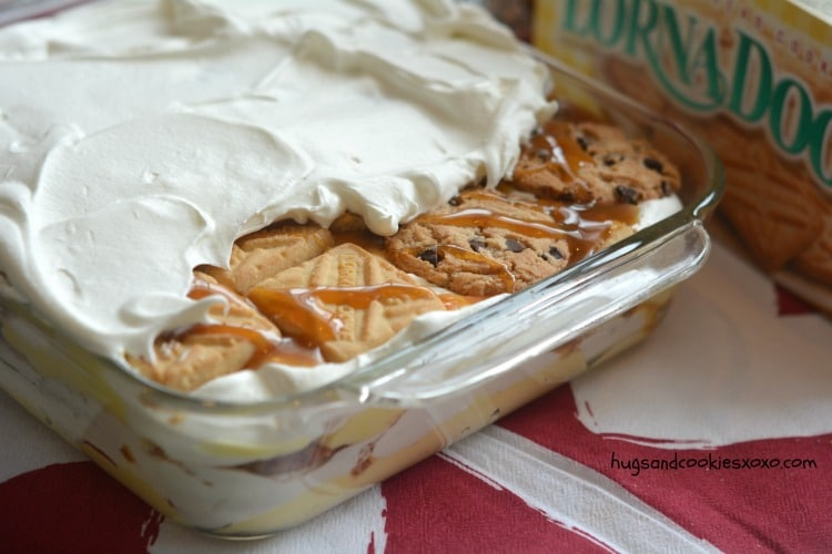 lasagna whipped cream