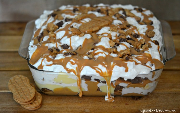 Peanut Butter Cookie Lasagna