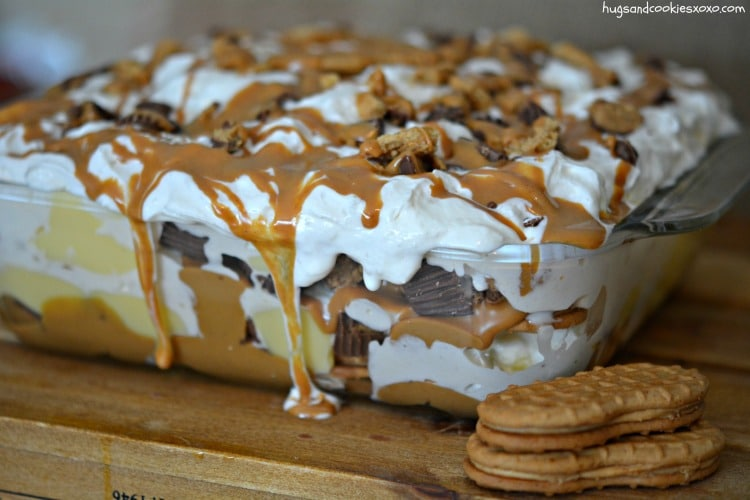 peanut butter cup lasagna