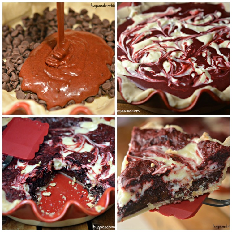 red velvet cheesecake slices