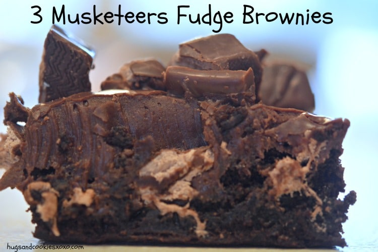 3 Musketeers Fudge Brownies Hugs And Cookies Xoxo