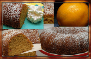 Orange Almond Bundt Cake