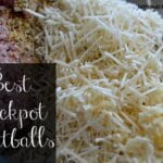 BEST Crockpot Meatballs