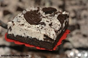 Oreo Butter Cream Bars