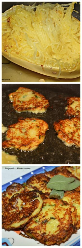 Spaghetti Squash & Sage Fried Patties