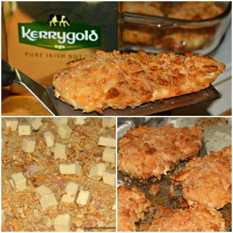 buttery cracker chicken cutlets baked