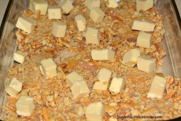 buttery cracker chicken