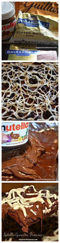 nutella chocolate brownies