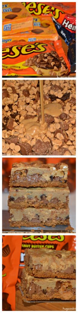 nutter butter reeses candy bar cookies