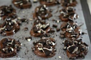 Chocolate Dipped Oreo Pretzels