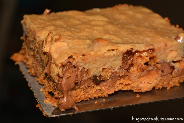 peanut butter cookie candy bar