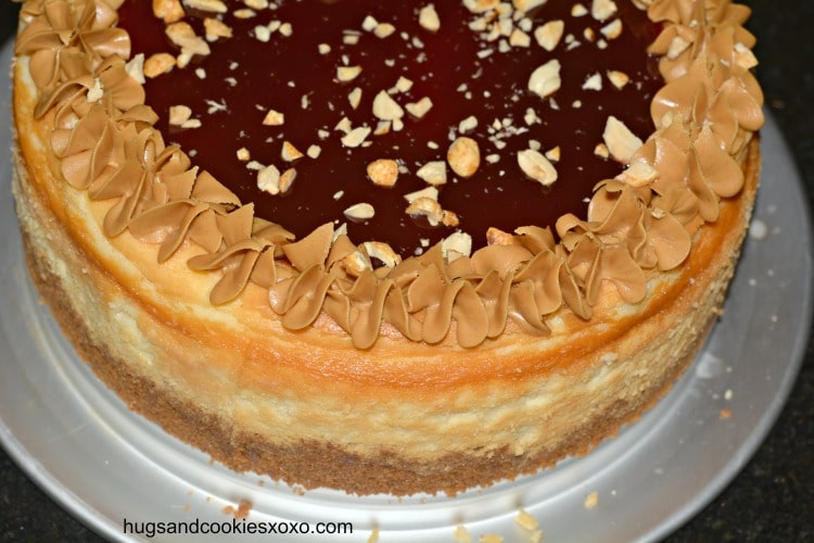 Peanut Butter & Jelly Cheesecake - Hugs and Cookies XOXO