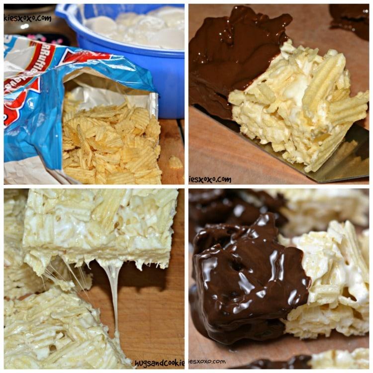 ruffles marshmallow treats