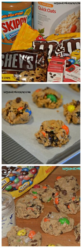 supreme soft baked monster cookies