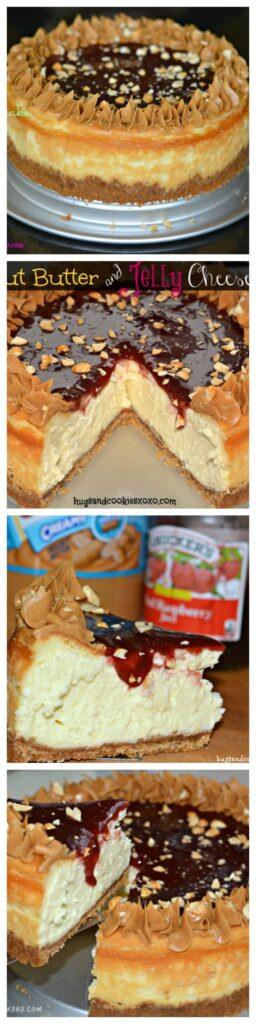 ultimate peanut butter and jelly cheesecake