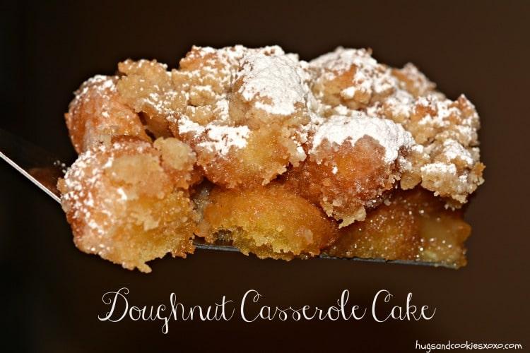 doughnut casserole cake