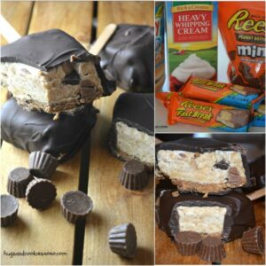 Peanut Butter Pie Pops