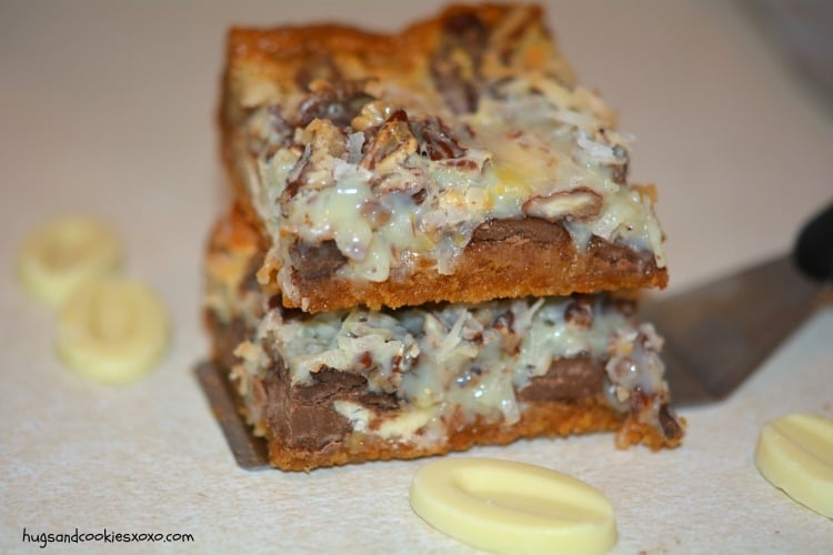 seven layer hello dolly bars