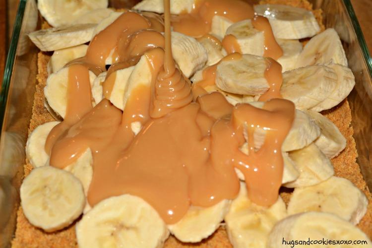 bananas caramel