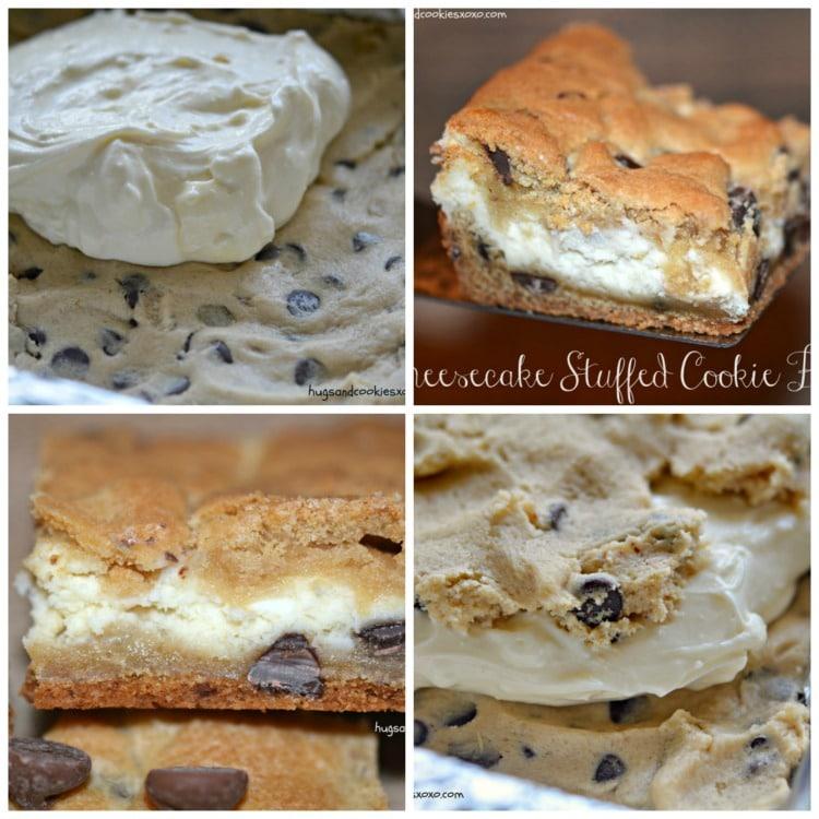 cheesecake stuffed bars