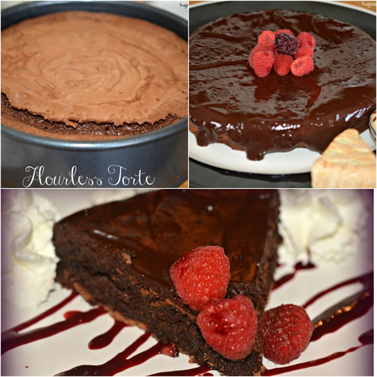 Flourless Chocolate Torte With Blackberry Coulis - Hugs and Cookies ...