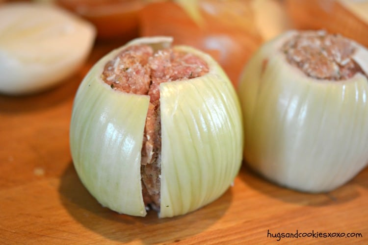 onion meatball